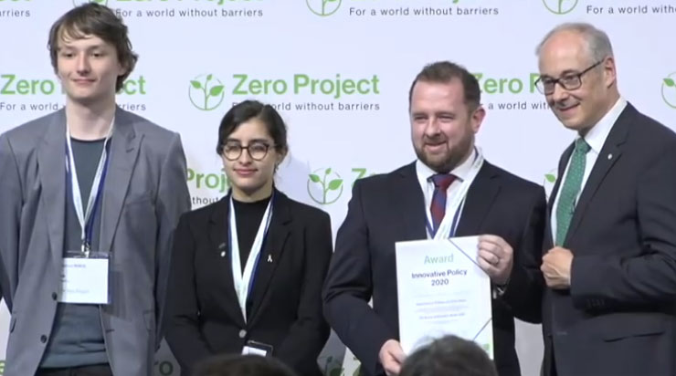 AIM programme wins global award for innovative policy